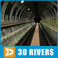 Subway tunnel by 3DRivers
