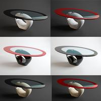 3d model table laura italian