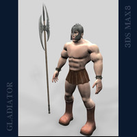 gladiator games character max
