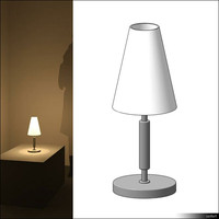 Lamp Table 00696se