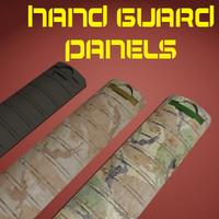 hand guard panel 3d model