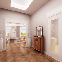 3d model apartment interiors