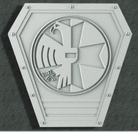 3D Medieval Shield