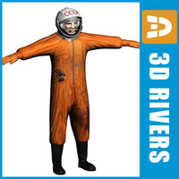 3d yuri gagarin human world model