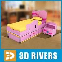 Kids bed 11 by 3DRivers