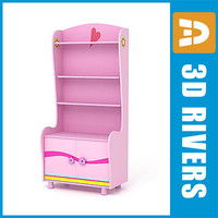 3d kid cupboard