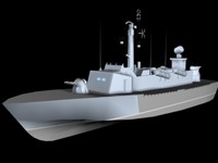 MILITARY CORVETTE STYLE SHIP_01.max