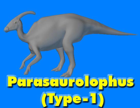 Parasaurolophus (Type-1)