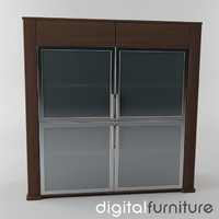 3d model sideboard digital