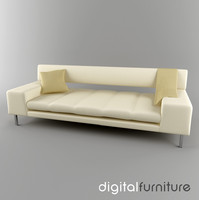 3d sofa digital model