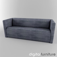 3ds sofa digital