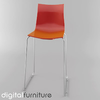 3ds max stool digital