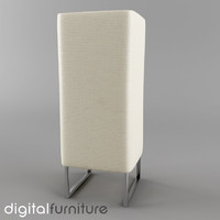 3d model of table lamp