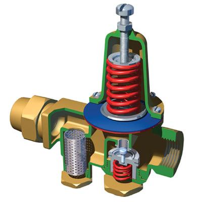 Hot Water Pressure Release Valve Water Pressure Relief Valve 3d
