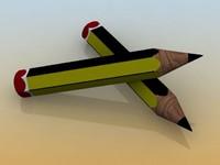 3ds pen pencil