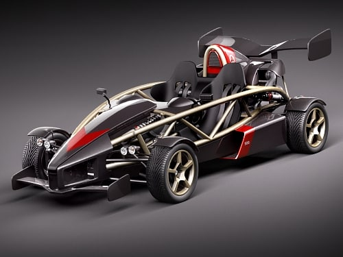 ariel atom 500 3d max. Black Bedroom Furniture Sets. Home Design Ideas