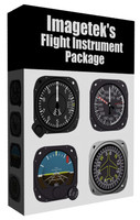 Aircraft Flight Instruments Collection #1
