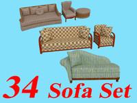 34 Sofa Sets