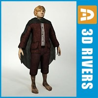 hobbit fantasy creatures 3d 3ds