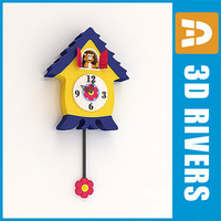 Kids cuckoo clock by 3DRivers