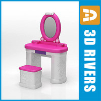 3ds kid make table furniture