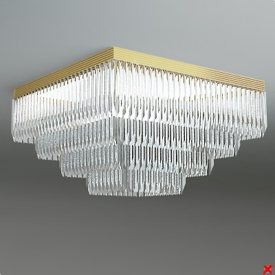 3d chandelier light model - Chandelier103.ZIP... by Fworx