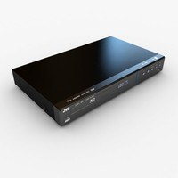 Modern JVC BluRay player
