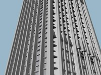 hy skyscraper 3d model