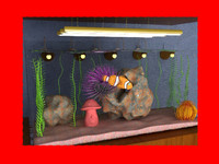 3d aquarium electronic fish