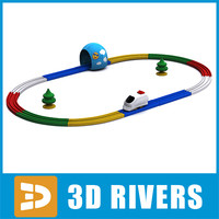 Toy railway by 3DRivers