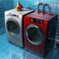 Washer & Dryer 2