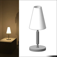 Lamp Table 00642se