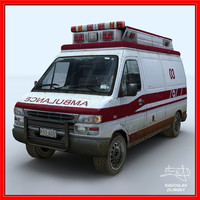 AMBULANCE model (dirty version)