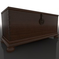cinema4d chest trunk baul