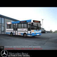 Mercedes mini-bus o402