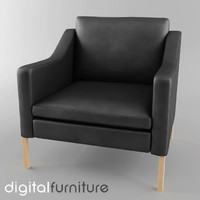 armchair digital 3d 3ds
