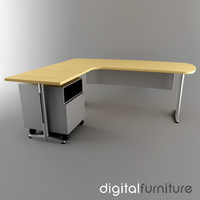 Office Desk 14