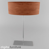3ds max floor lamp