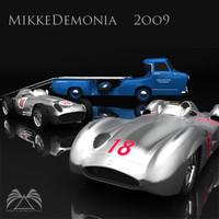 3d mercedes benz 1 model
