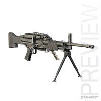 5 mg light machine gun 3d model