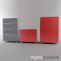 office storage 3d lwo