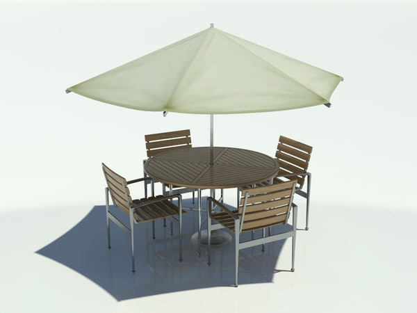 Outdoor table and umbrella Image 4.jpg