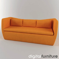 sofa digital 3ds
