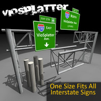 XD3 - InterstateSign - 3DX