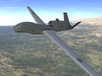 3ds max rq-4 global hawk unmanned