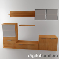 wall digital 3d dxf