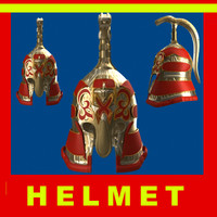 ancient gladiator helmet 3d max
