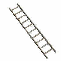 ladder stepladder 3d model