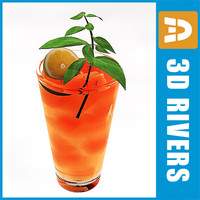 3d long island iced tea
