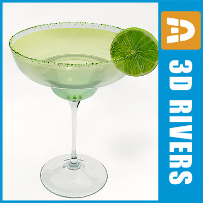3d model margaritta cocktail drink - Margaritta by 3DRivers... by 3DRivers